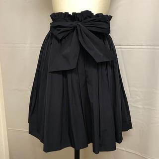 スナイデル(snidel)の美品!snidel☆スナイデル『リボン スカート』(ミニスカート)