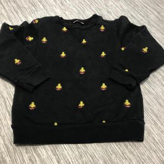 ヒステリックミニ(HYSTERIC MINI)の刺繍トレーナー(Tシャツ/カットソー)