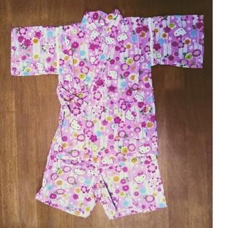 サンリオ(サンリオ)のキティ 女の子甚平 110(甚平/浴衣)