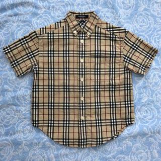 バーバリー(BURBERRY)のバーバリー シャツ ヴィンテージチェック ノバチェック 110 120(Tシャツ/カットソー)