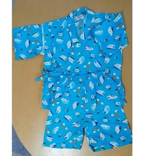 サンリオ(サンリオ)のサンリオ シンカンセン 甚平 夏物パジャマ 上下 110 男の子(甚平/浴衣)