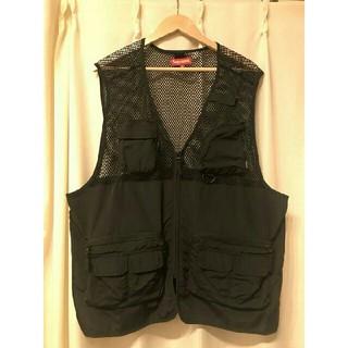 Supreme - supreme mesh cargo vest 18ss