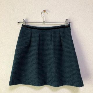 フレディアンドグロスター(FREDY & GLOSTER)のFREDY & GLOSTER グリーンスカート (ミニスカート)