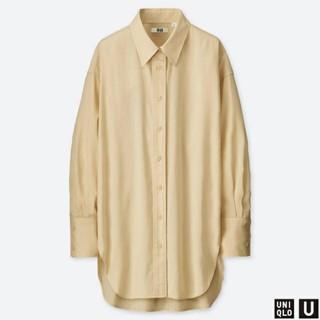 ユニクロ(UNIQLO)のUNIQLO u ビッグシャツ(シャツ/ブラウス(長袖/七分))
