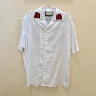 グッチ(Gucci)のGUCCI オープンカラーシャツ(シャツ)