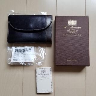 ホワイトハウスコックス(WHITEHOUSE COX)のホワイトハウスコックス 3つ折り財布[別注](折り財布)