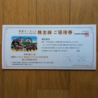 ホンダ - 鈴鹿サーキット 株主優待
