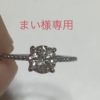 大粒ダイヤモンドリング(リング(指輪))