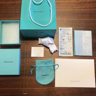 ティファニー(Tiffany & Co.)のTiffany ティファニーネックレス  シルバー 新品未使用 保証書箱付き(ネックレス)