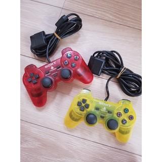 プレイステーション2(PlayStation2)のPS2 純正 コントローラー クリアタイプ スケルトン(家庭用ゲーム本体)