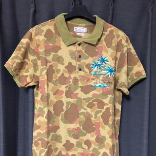 スコッチアンドソーダ(SCOTCH & SODA)のスコッチ&ソーダ 迷彩ポロシャツ Mサイズ(ポロシャツ)