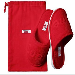シュプリーム(Supreme)の新品未使用未開封Supreme Frette slippers US 8-10(スリッパ/ルームシューズ)
