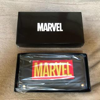 マーベル(MARVEL)のMARVEL 長財布✖︎1点&cubeポーチ✖︎2点(アメコミ)