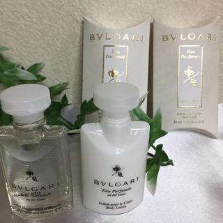 ブルガリ(BVLGARI)の【BVLGARI】非売品オ・パフメ オーデブラン 2点セット(ボディソープ / 石鹸)