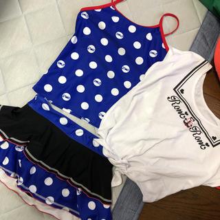 ロニセパレートタンキニ水着スイムウェアセット150160女の子