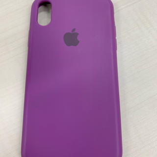 アップル(Apple)のiPhone XR ケース シリコン(iPhoneケース)