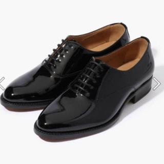 トゥモローランド(TOMORROWLAND)のTOMORROWLAND エナメルレースアップシューズ(ローファー/革靴)