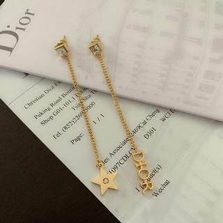 ディオール(Dior)のDIOR イヤリング 美品 レディース(イヤリング)