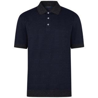 ルイヴィトン(LOUIS VUITTON)のLOUIS VUITTON ルイ ヴィトン ハーフ モノグラム ポロ サイズXS(ポロシャツ)