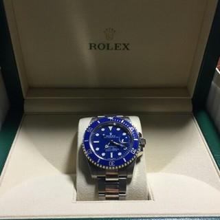 ロレックス(ROLEX)のローレックス潜航者型シリーズ1156619 LB-97209ブルーリスト(腕時計(アナログ))