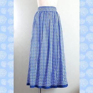 TOMORROWLAND - タグなし未使用*MACPHEE*コットンリネンロングスカート