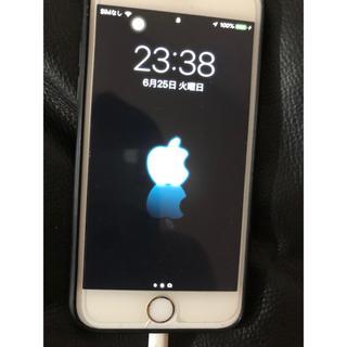 iPhone - iPhone6 ゴールド 64GB au