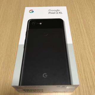 ANDROID - Google pixel 3 XL 128GB ブラック 新品未使用品