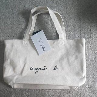agnes b. - 新品 アニエスベー バッグ アイボリー トートバッグ