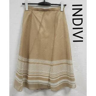 インディヴィ(INDIVI)のINDIVI スカート(ロングスカート)