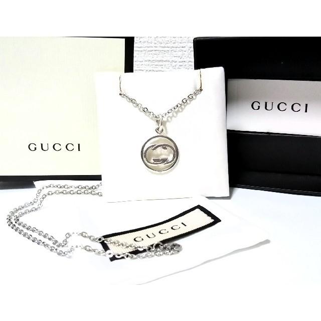 Gucci(グッチ)のGUCCI/グッチ ドッピアG ペンダント/ネックレス メンズのアクセサリー(ネックレス)の商品写真