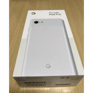 ANDROID - Google pixel 3 XL 128GB ホワイト 新品未使用品
