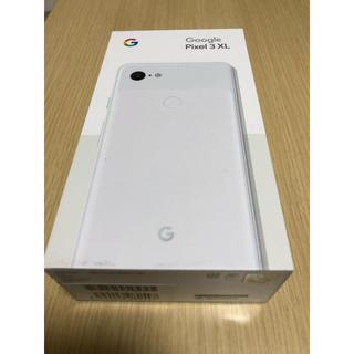 ANDROID - Google pixel 3 XL 64GB ホワイト 新品未使用品