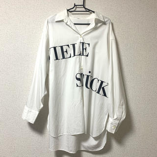 FRAY I.D - 【美品】カメリアフロントロゴシャツ【19SS】