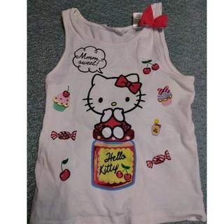 サンリオ(サンリオ)のキティ リボン付(Tシャツ/カットソー)