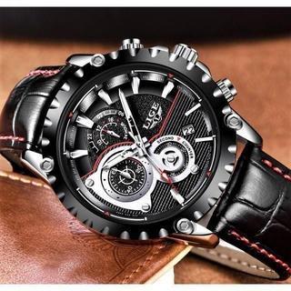 【新品】 高性能クロノグラフ レーシングデザイン 腕時計 0611