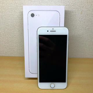 Apple - iPhone8 64GB simフリー silver