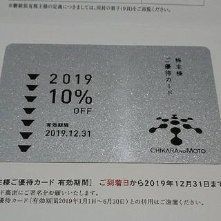 力の源ホールディングス 株主優待カード