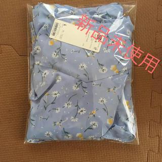 GU - gu  ジーユー 花柄 ブラウス 新品 レディース トップス L サイズ