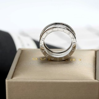 ブルガリ(BVLGARI)の正規品 Bvlgari  指輪 8号  美品シルバー(リング(指輪))