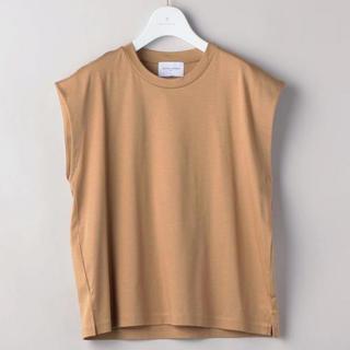 UNITED ARROWS - 18SS★UNITED  ARROWS スムーズクルーネックTシャツ ベージュ