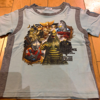 バンダイ(BANDAI)のウルトラマンTシャツ BANDAI 110(Tシャツ/カットソー)
