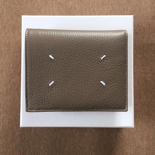 マルタンマルジェラ(Maison Martin Margiela)の18AW新品 マルジェラ 折り財布 メンズ (折り財布)