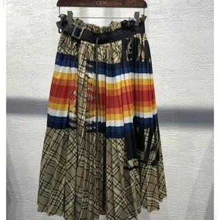 sacai - sacaiスカート綺麗ストラップ19ss