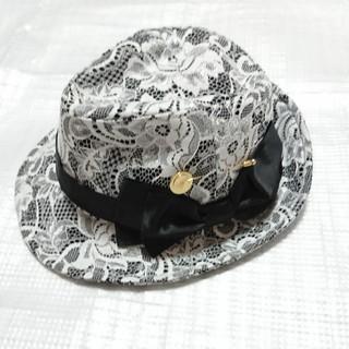 マーズ(MA*RS)の新品未使用タグ付きマーズ白レースハット(帽子)(ハット)