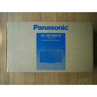 Panasonic - パナソニック ミニコンポ Bluetooth ブラック SC-HC400-K