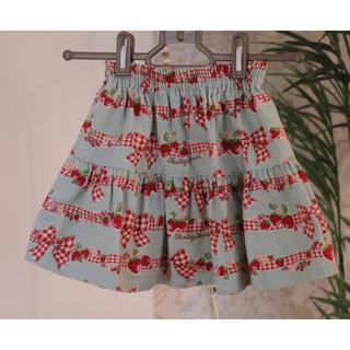 Shirley Temple - ShirleyTemple いちご柄 スカート サイズ100