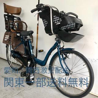パナソニック ギュット 3人乗り 8ah 2本 新基準 人気 電動自転車