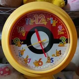 ポケモン(ポケモン)のポケモン ピカチュウ 掛け時計(掛時計/柱時計)