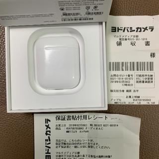 Apple - 【保証あり】AirPods(第一世代)