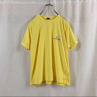 モンベル(mont bell)の【極美品】montbell モンベル ワンポイントロゴ Tシャツ レディース(Tシャツ(半袖/袖なし))